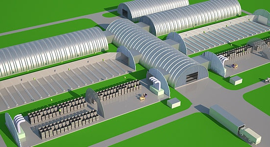 Картофелехранилище - от проекта до готового комплекса!