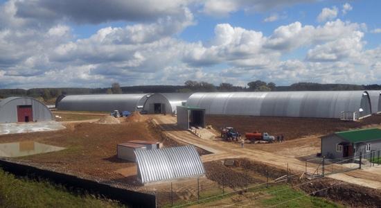 Завершение строительства комплекса на 20 500 тонн